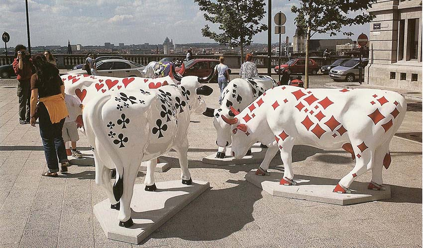 Art On Cows